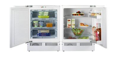 Under the counter fridge freezer