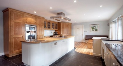 People are now opting for a warmer feel in their kitchen