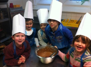 Children Learning in the Kitchen